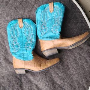 Coconuts Gauco Womans Cowboy boots size 7 1/2